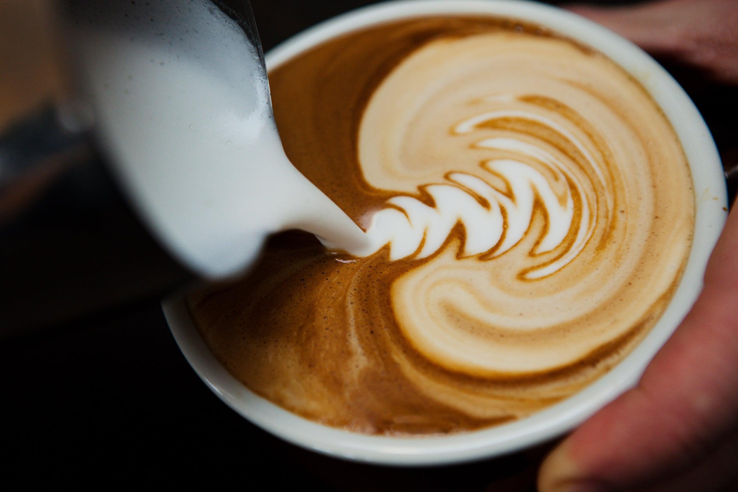 A £3 coffee