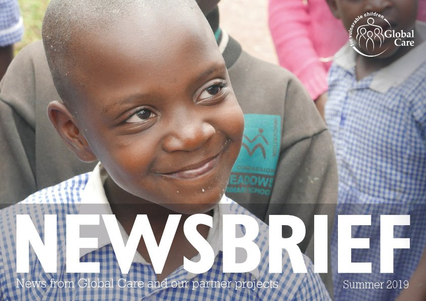 Global Care Newsbrief Summer 2019 - Cover
