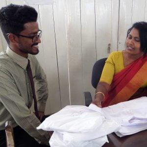 A new welfare support worker for Sri Lanka