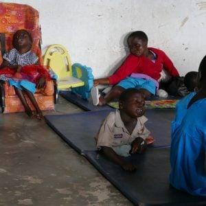 Children at the Abeko DSG playscheme