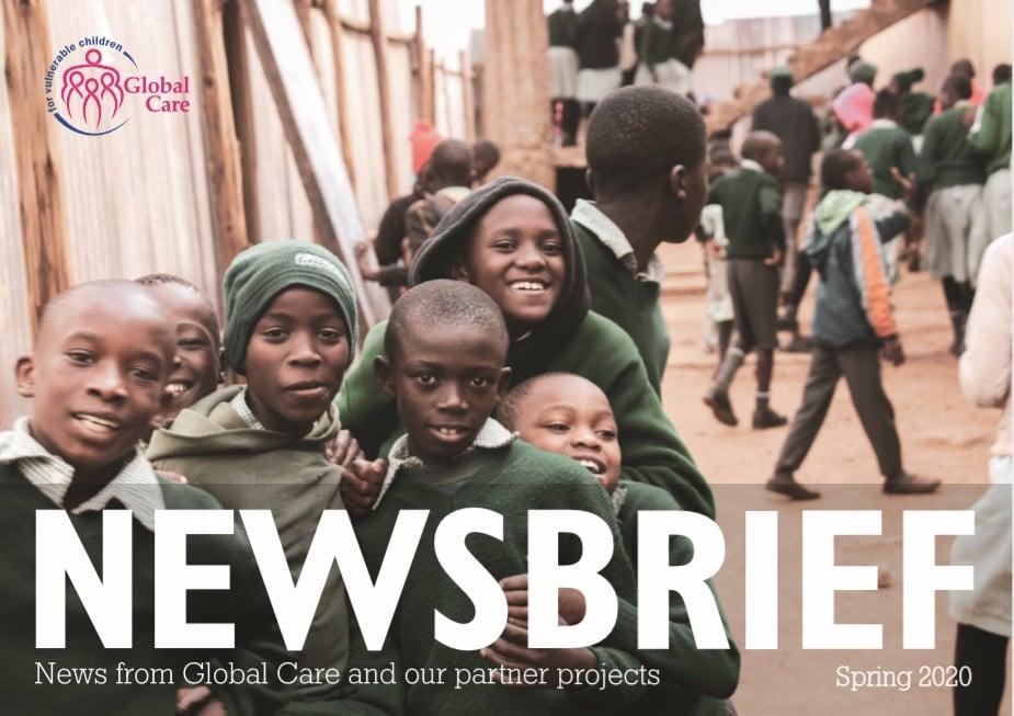 Newsbrief Magazine Spring 2020 cover