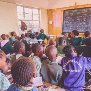 A Spurgeons classroom in Kenya