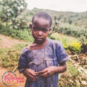 A child in Rukungiri, Uganda