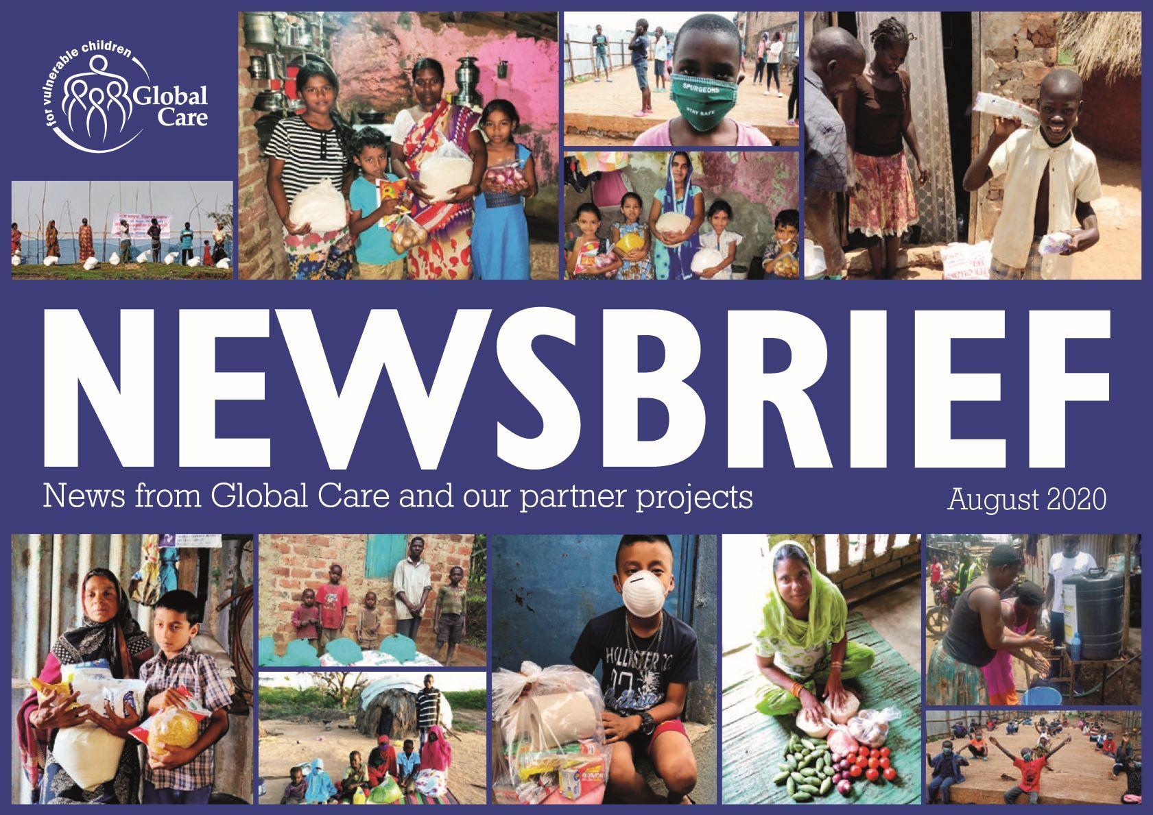 Newsbrief Magazine August 2020 cover