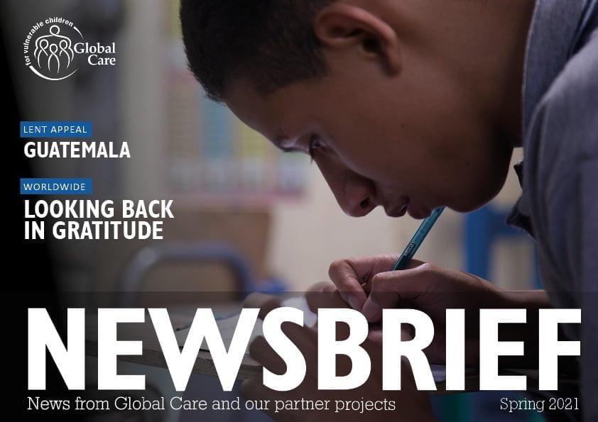 Newsbrief Magazine cover Spring 2021