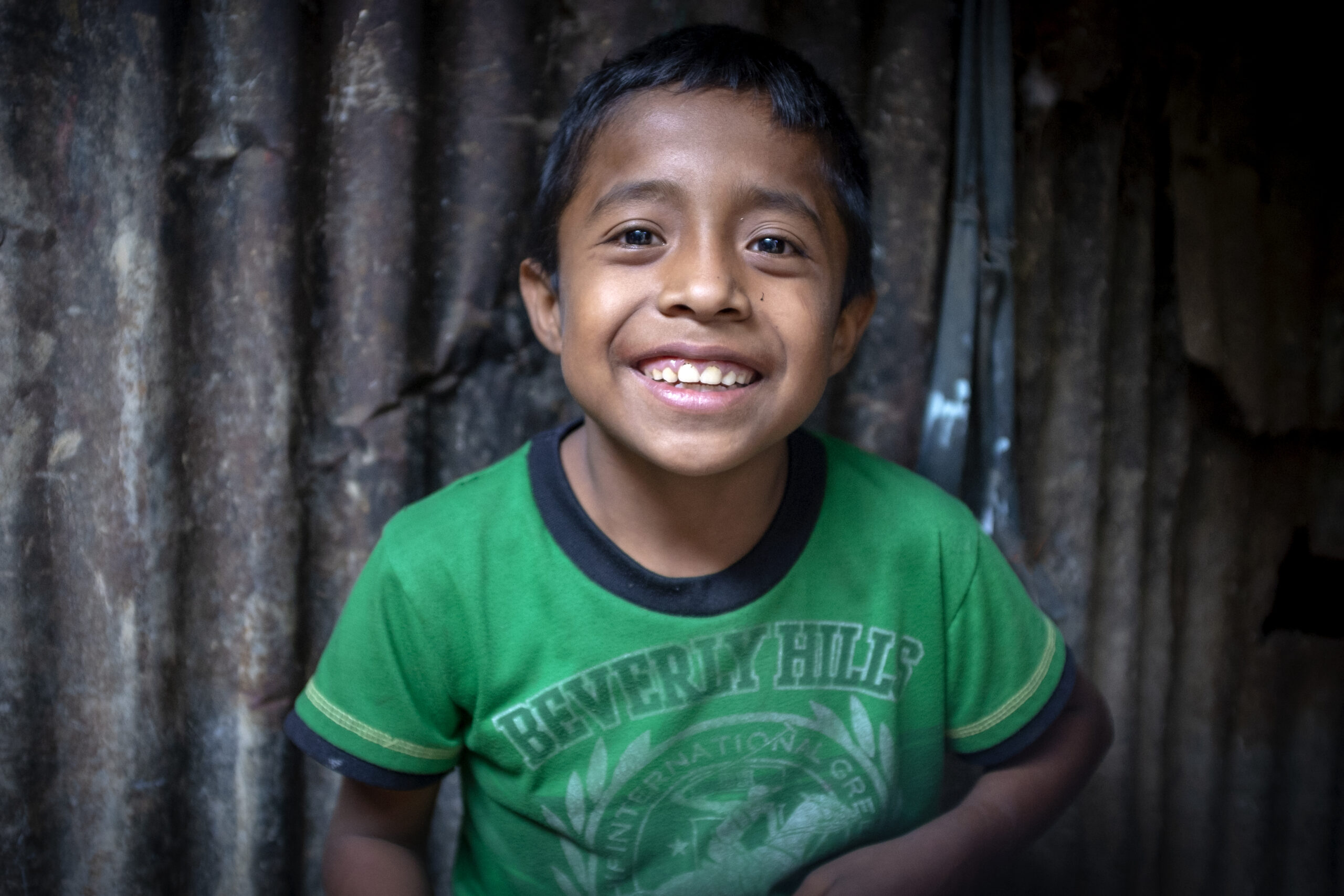Guatemalan child smiling